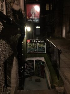 Excellent pub off the Royal Mile. But good luck finding it!
