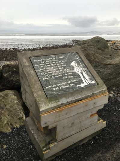 Yeats verse about Knocknarea