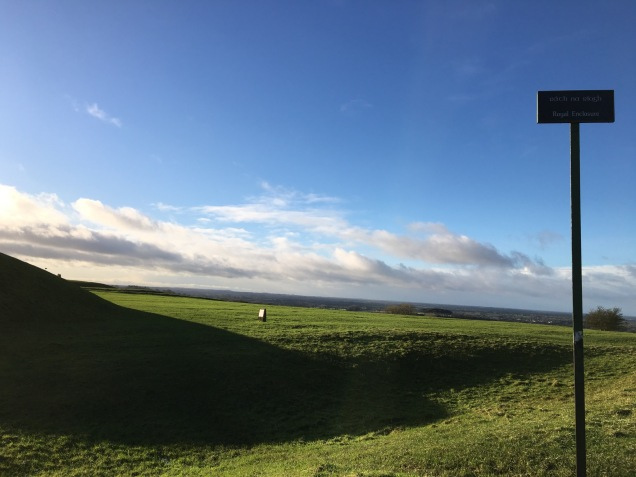 The Royal Enclosure at the Hill of Tara